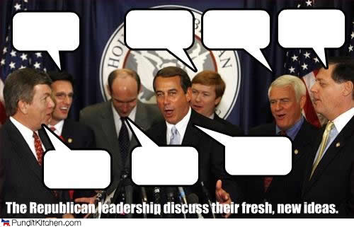 Political-pictures-republican-leaders-discuss-ideas