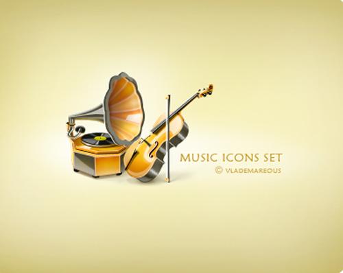 Music-icons